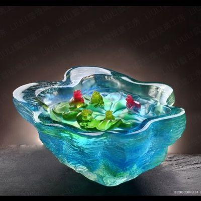 liuli gong fang glass | Glass art made by Liuli Gong Fang (www.liuliusa.com)