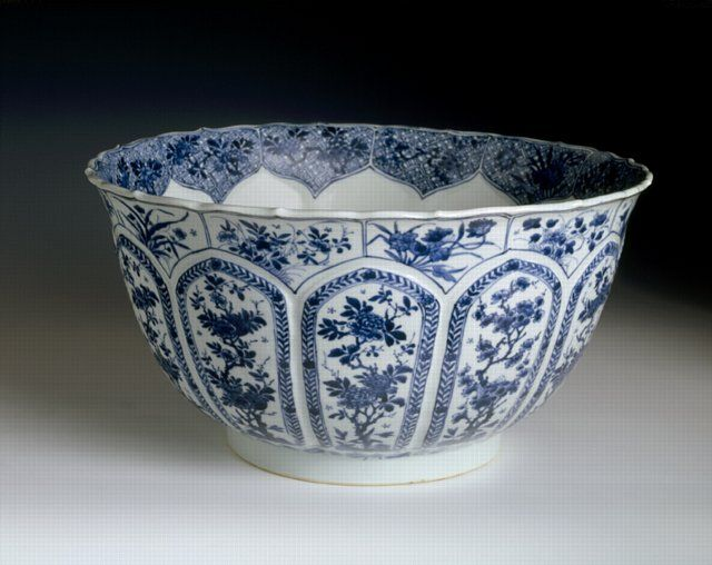 RP: Chinese export porcelain bowl, c. 1700, Kangxi reign, Qing dynasty