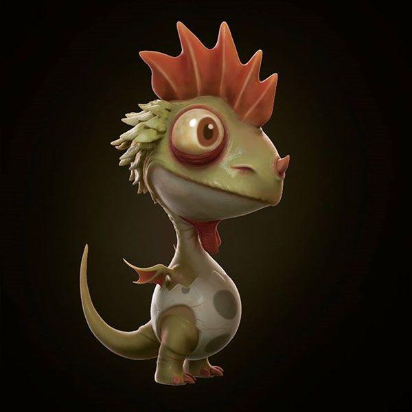 Chicken Dragon on Behance