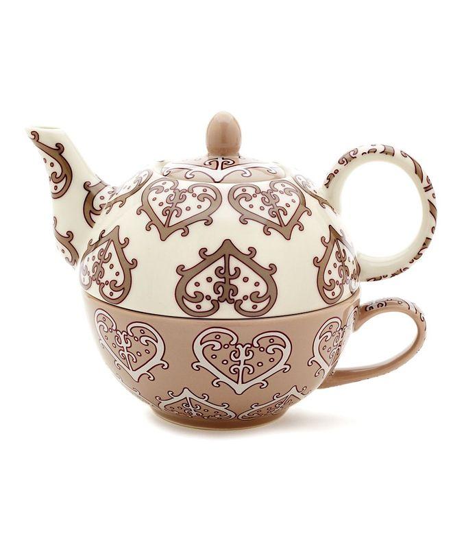 Paisley Heart Tea