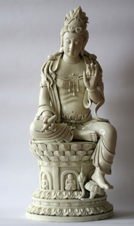 "thirty-six-stratagems: "" White QuanYin - Ming Dynasty """