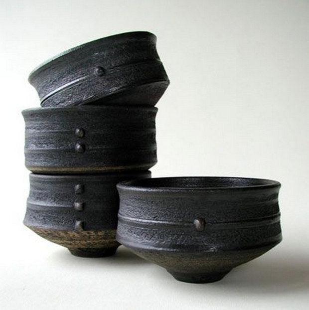 Adorable Stoneware Ceramic Bowl (93)
