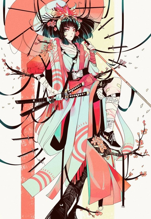 Goddess_of_Swords*, an art print by Vinne.art - INPRNT