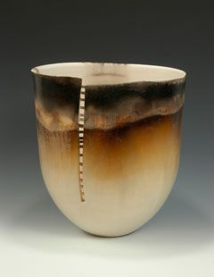 Pit-fired pot