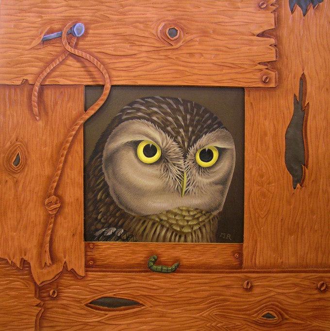 'SMALL BOX , LITTLE OWL.