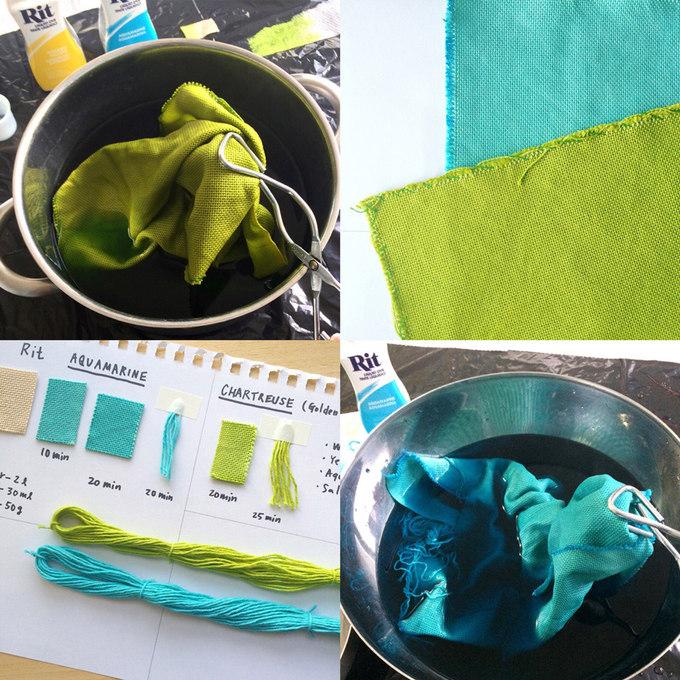 Hand-dye testWORK-IN-PROGRESS