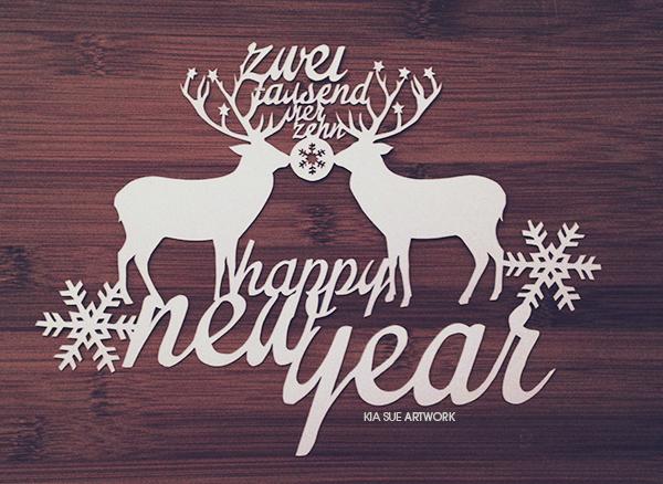 happy new year 2014goodbye 2013 cut