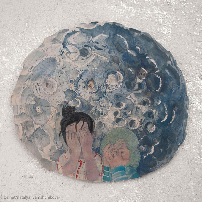 5.If you look at the moon long enough you`ll become a lunatic.5.Если долго смотреть на луну - станешь лунатиком.