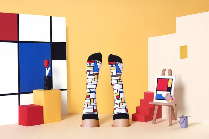 Source -www.chattyfeet.com' Feet Mondrian '