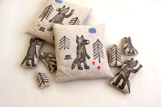 Pillows and toys