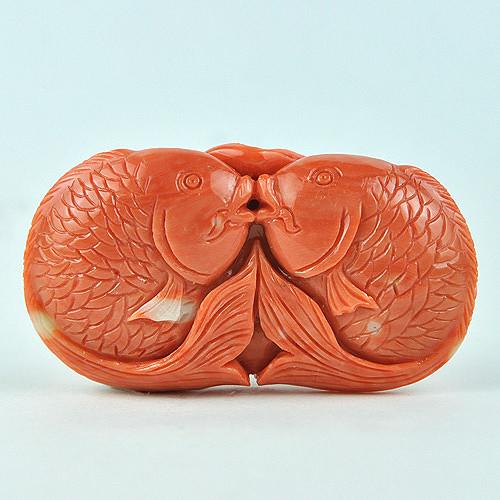 玉雕 [转载]红珊瑚精品