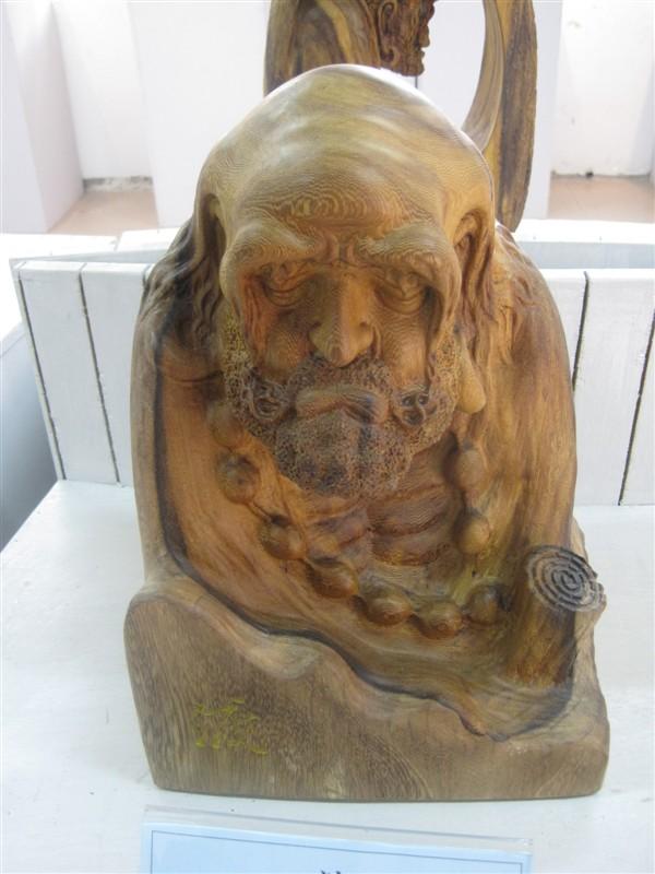 海峡两岸木雕大师作品展 禅