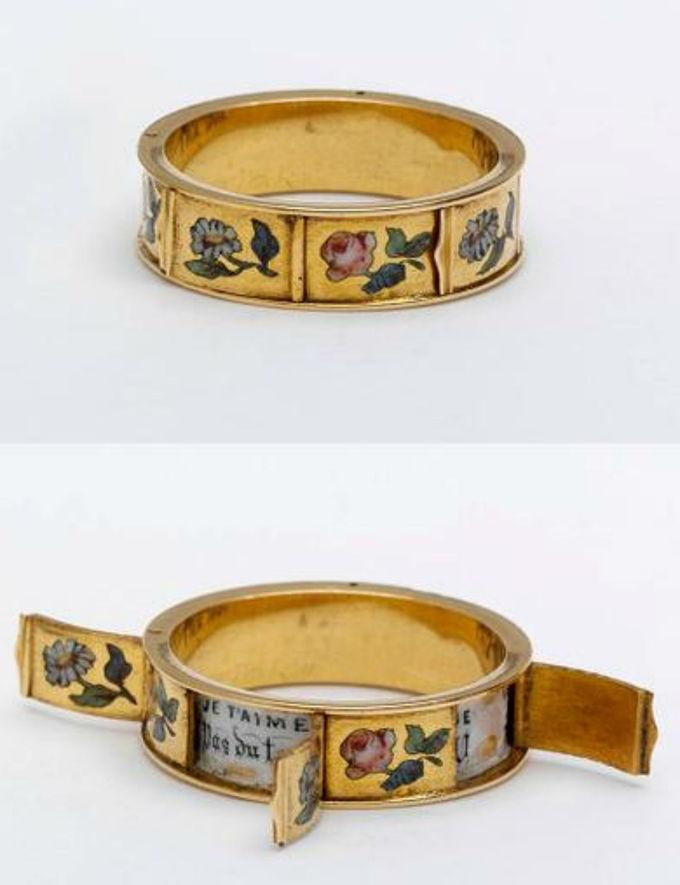1830-1860年密码戒指