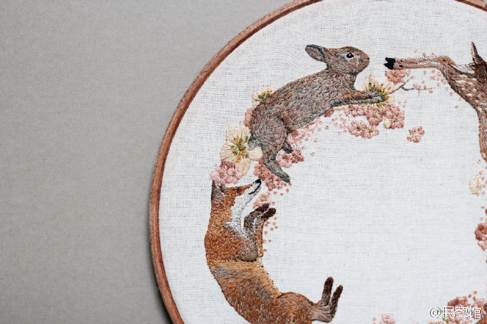 刺绣  英国年轻女艺术家 Emillie Ferris