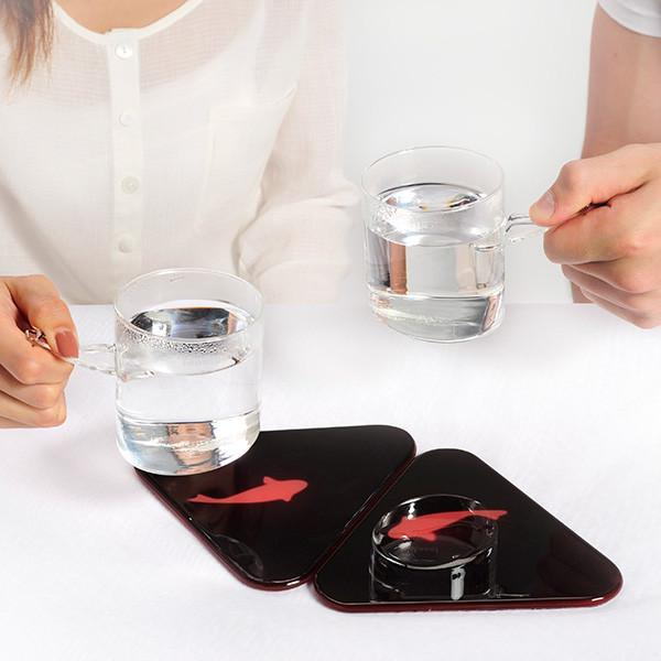 Fish Mug Heat Pad Coasters