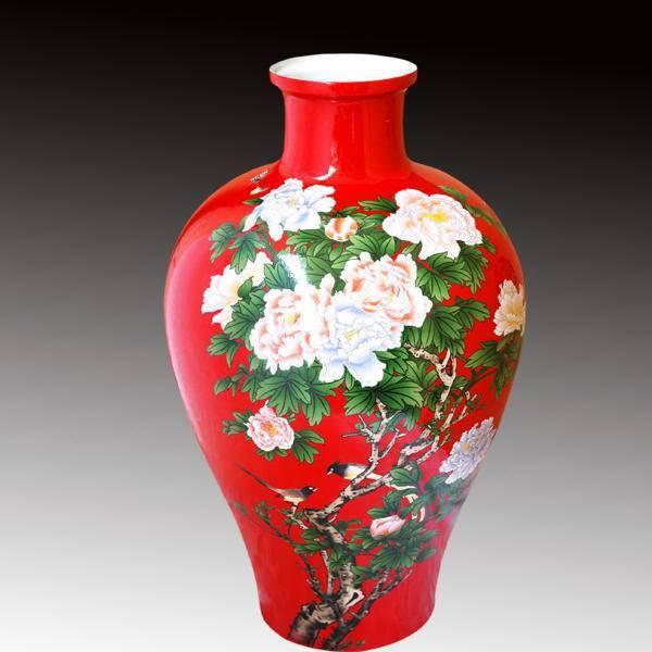 中国红瓷器