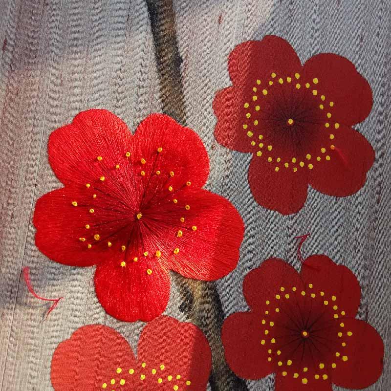 手工刺绣背景墙壁画真丝纯手绣墙纸中式花鸟奢华苏绣精品-淘宝网