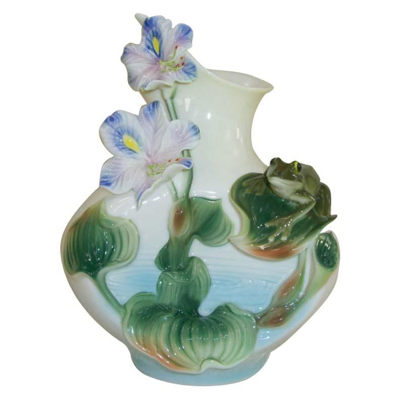 居家装饰花瓶 珐琅瓷_工艺