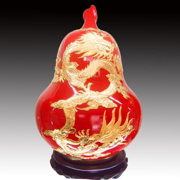 奥运瓷·中国红