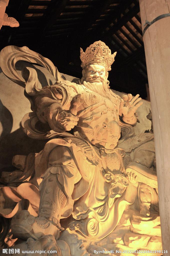 乐山凌云寺木雕摄影图__传统文化_文化艺术_摄影图库_昵图网nipic.com