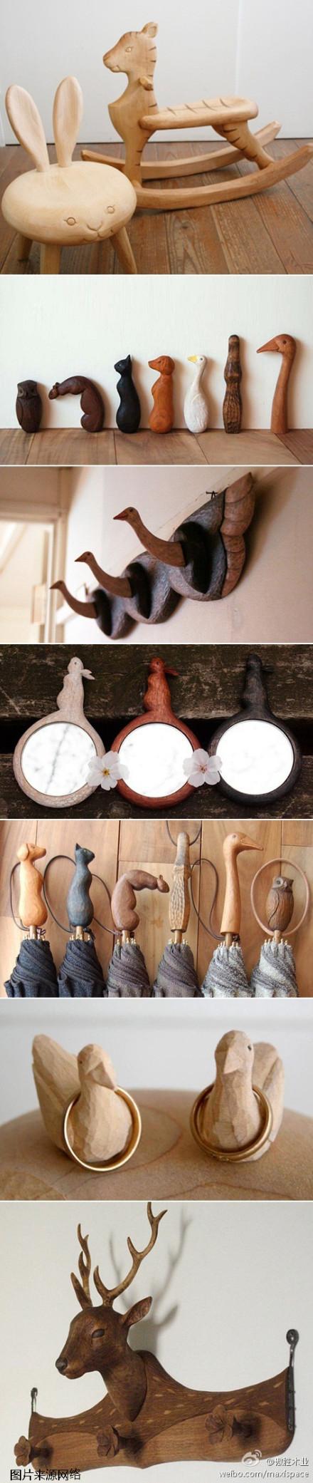 傲胜木业:#傲•享生活#如果你是个爱卖萌的朋友,那么日本艺术家若野忍的作品是否可以打动你呢?惟妙惟肖的木雕作品,兔子、松鼠、鸭子等各种森系小可爱,一个个化身成为了居家的守护神。各位,找到属于你们自己的萌物了吗?