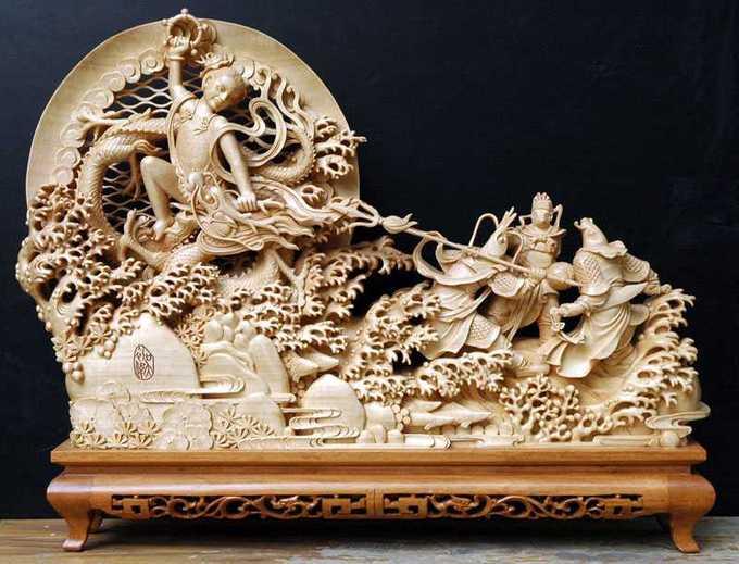 木雕艺术欣赏