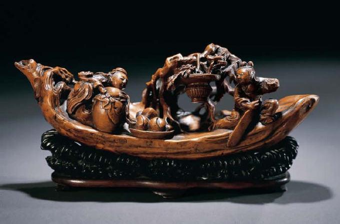 [转载]精、美、奇的竹雕艺术