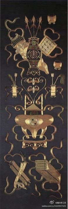 #织品# 古代苏绣作品集。