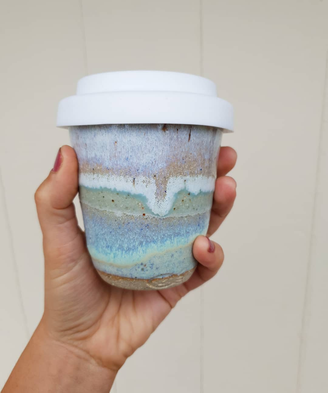 Definitely a coffee kind of day! Just put a few keep cups up on Etsy.. wheelthrownpotterytravelcupceramicsreusemrsfisherspottery