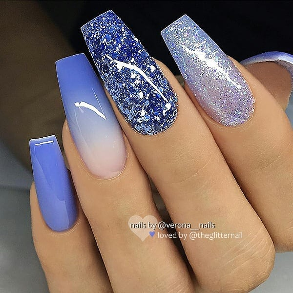 1, 2, 3, 4 or 5?  Please swipe!Pick your favorite and leave a comment below!  Nail Artist:  Follow her for more gorgeous nail art designs Turn on post notification, if you don't want to miss any of my posts.
