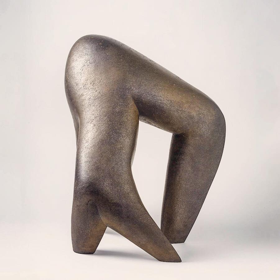 Ceramic sculpture by Pierre Martinon contemporarysculpture