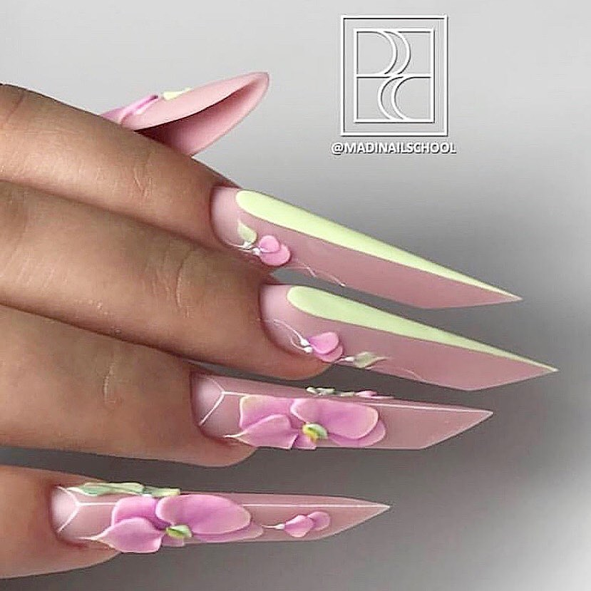 Beautiful nails by Ugly Duckling family member Ugly Duckling Nails page is dedicated to keeping love, support, and positivity flowing in our industrynail