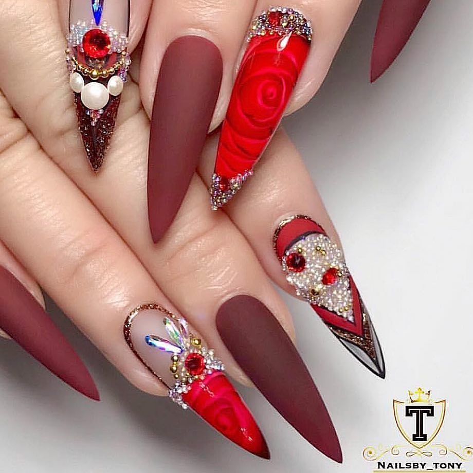 Beautiful nails by Ugly Duckling Nails page is dedicated to keeping love, support,and positivity flowing in our industrynail