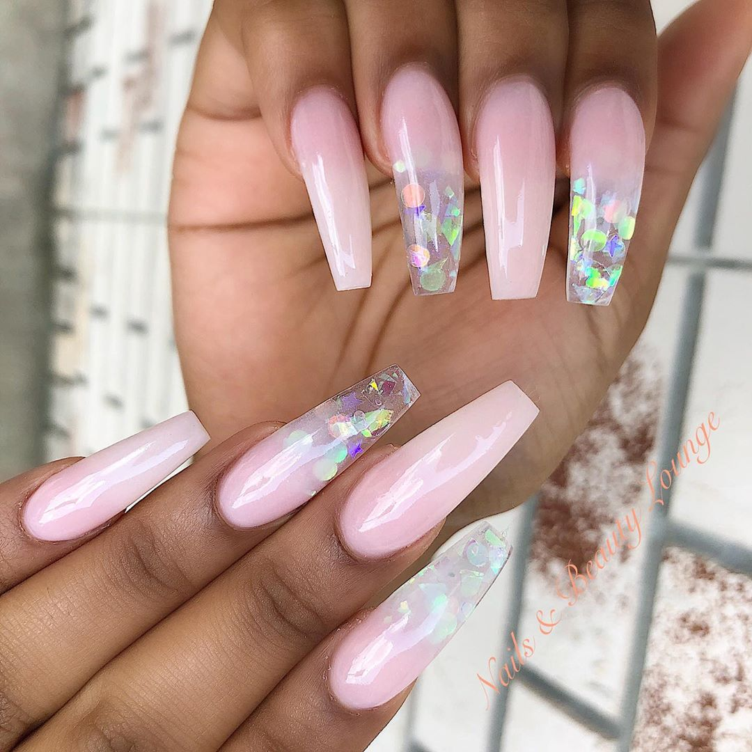 Simple glass nail designs by Steven! ------nailsart