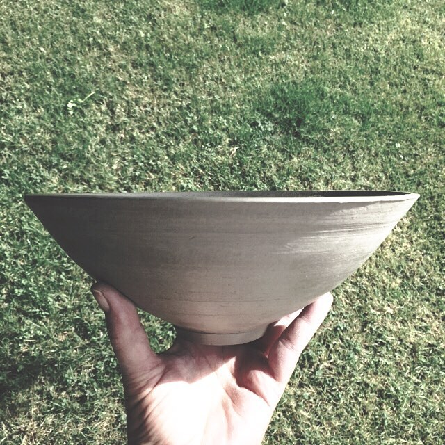 Another turned and ready for the clay