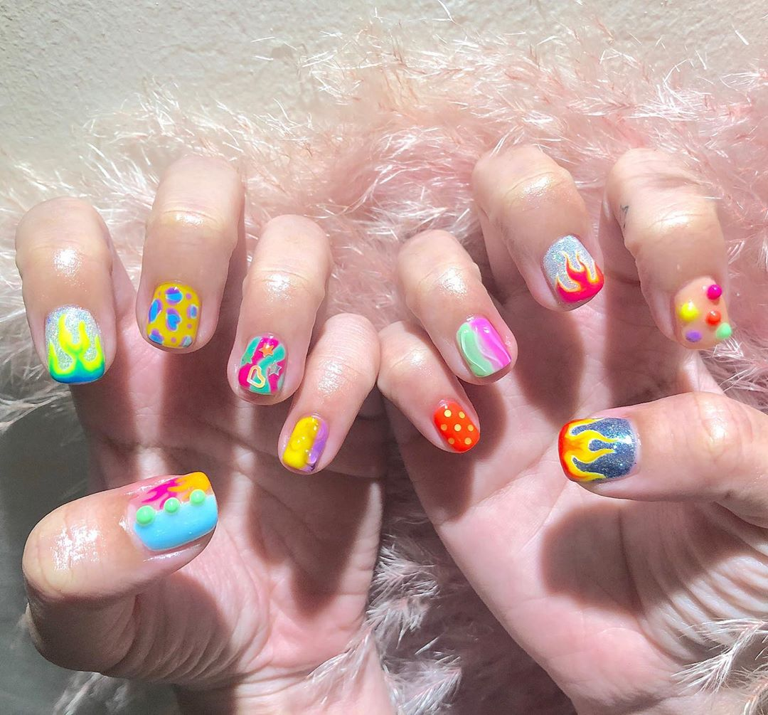 Welcome All The Nail Art LoverReservations please call: 096-669-2996 or Line: benbenz.bbNailart  Manicure  Pedicure  Spa services glitternails