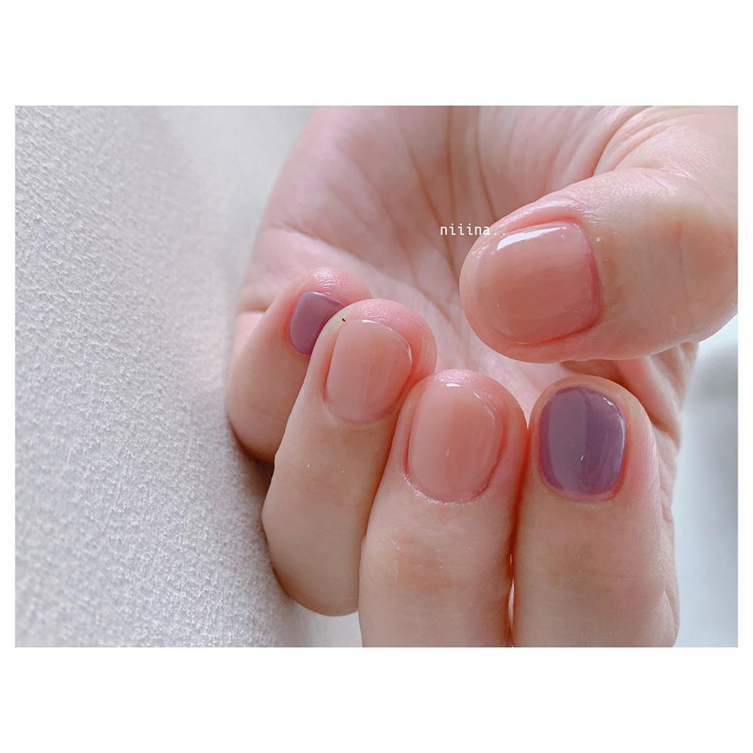 **purple pink.. ****nailspregelnuancenail