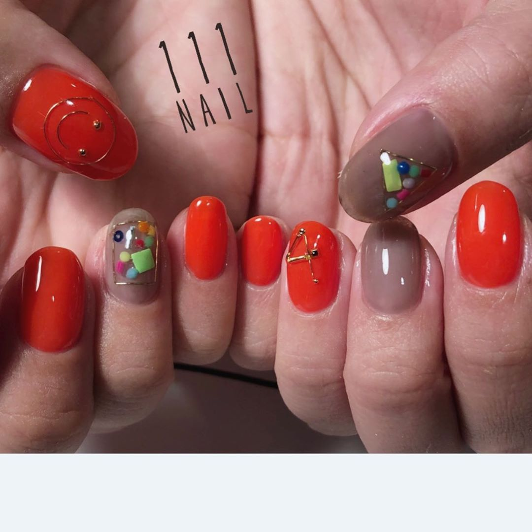 nailsalonomotesandotokyored111orange111