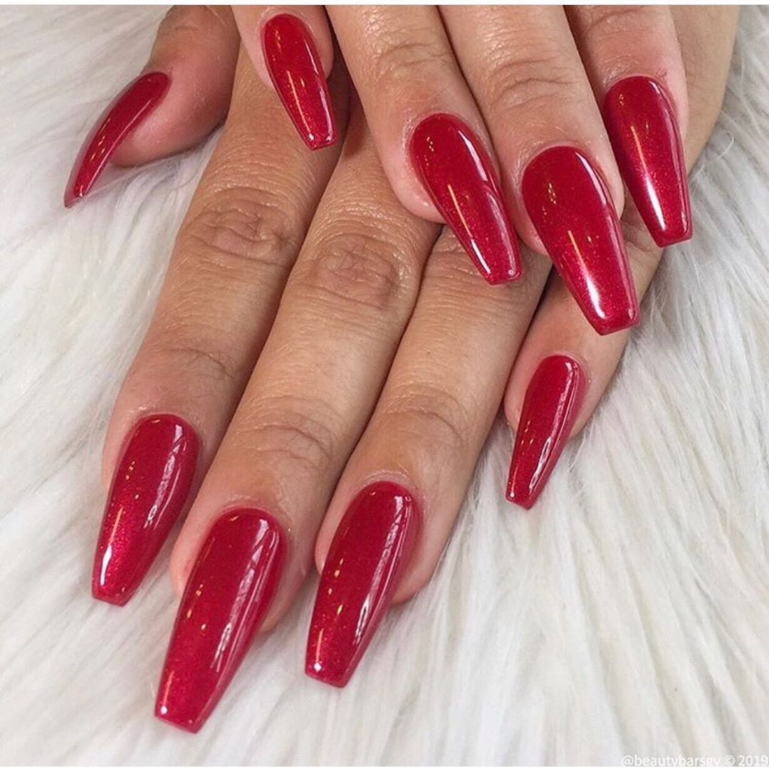 Ruby Red : @nailsbybb_sgv