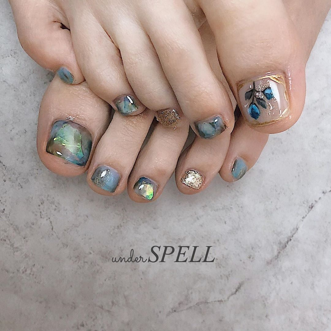 nuance nail  footnail