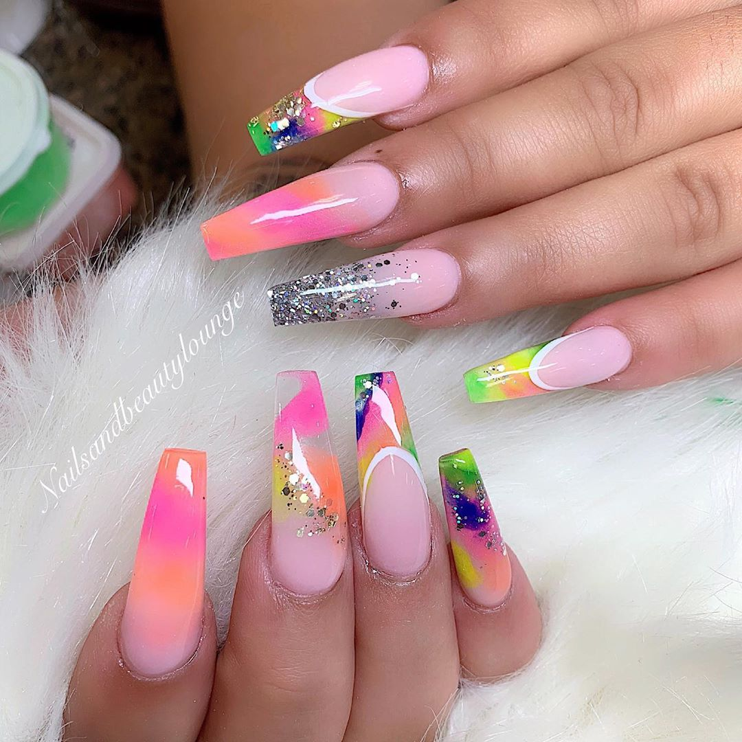 Marble nails ------nailsart