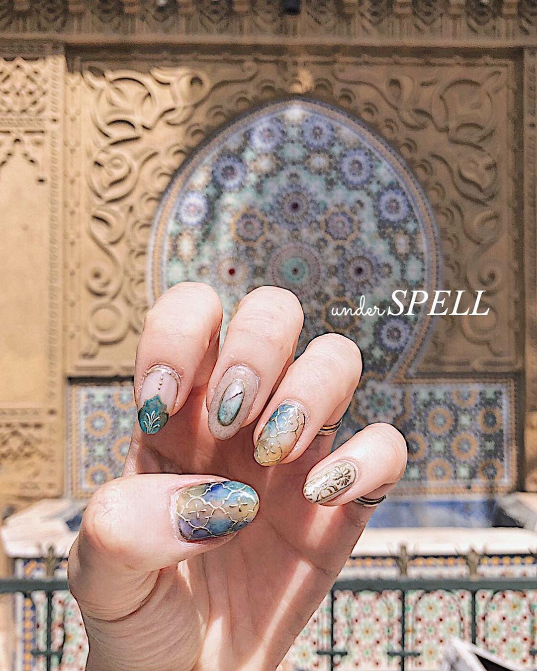 Moroccan nail1111