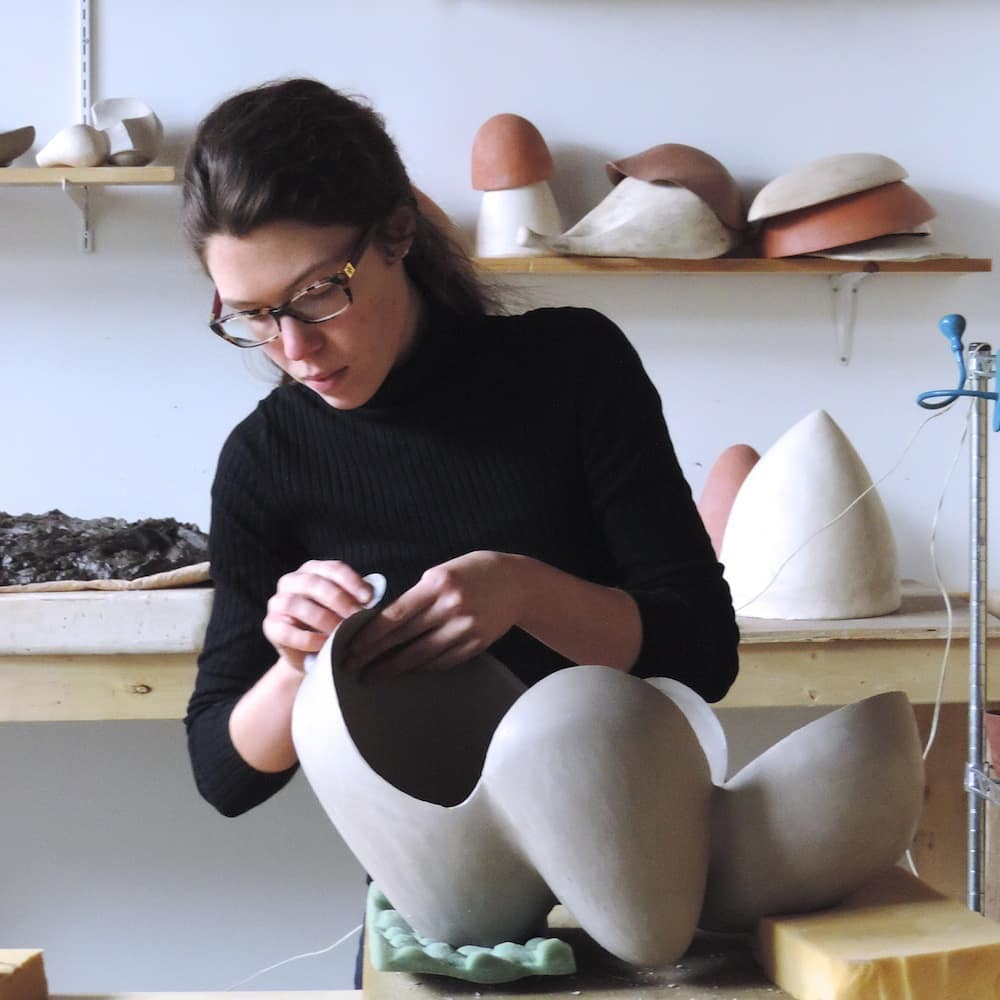 Zo Powell: (thank you | Thank you for spending time with me today and many thanks to for selecting me as one of this years featured emerging artists. To keep seeing posts like these, please be sure to follow me at and .ceramicsculpture