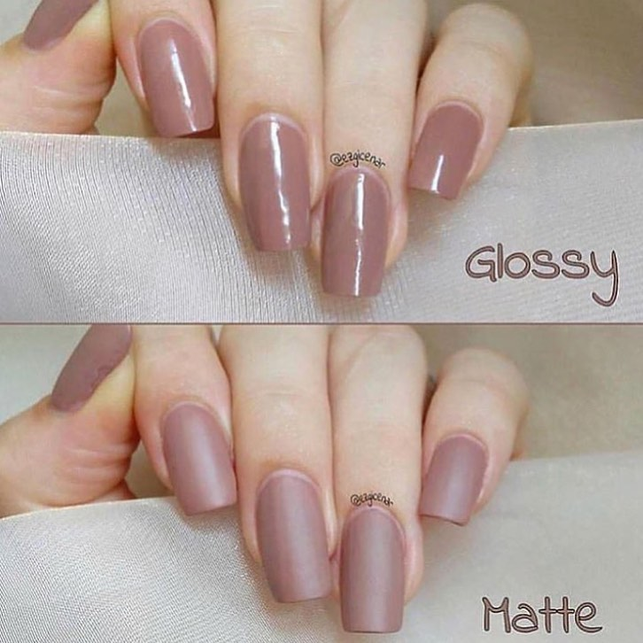 Glossy or Matte?