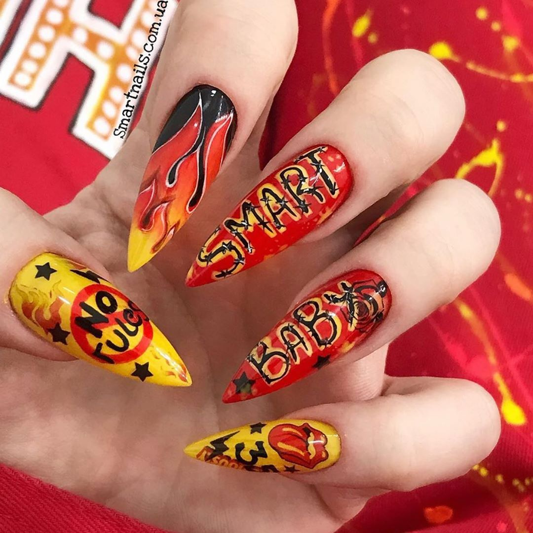 1k     yes or no?   rednails