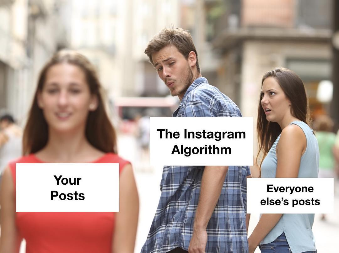 NEW ARTICLE! Guys...Instagram is an advertising company, not a place to connect with each other or to