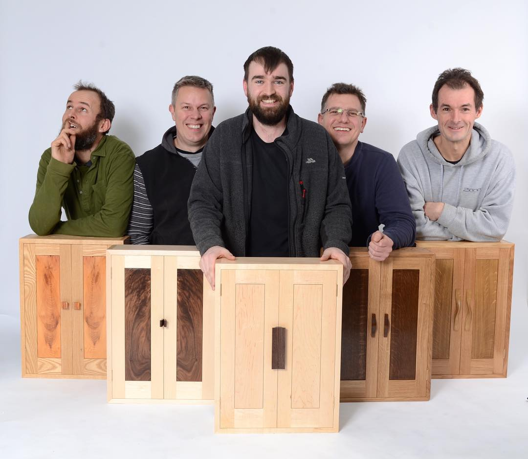 Our 201718 designer maker students have been selecting timber for their wall hanging cabinets today. Let's see how their cabinets compare to this gangs!! We miss you class of 201617 .............. And a big thanks to for the warm welcome and quality timber this morning.