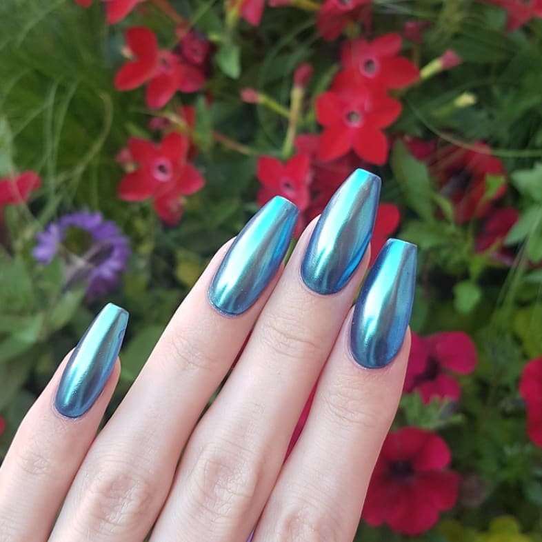 How cool aren't these?! Nails made with productsFrom Products used: Mediterranean Premium Pretty Black Tienailsofinstagram