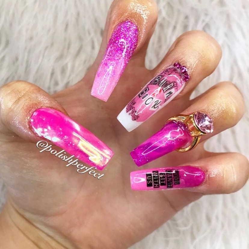 s  s Obsessssed with this Mean Girls inspired set by the lovely Vanessa at using her V11 NANO Printer! ...BurnBook