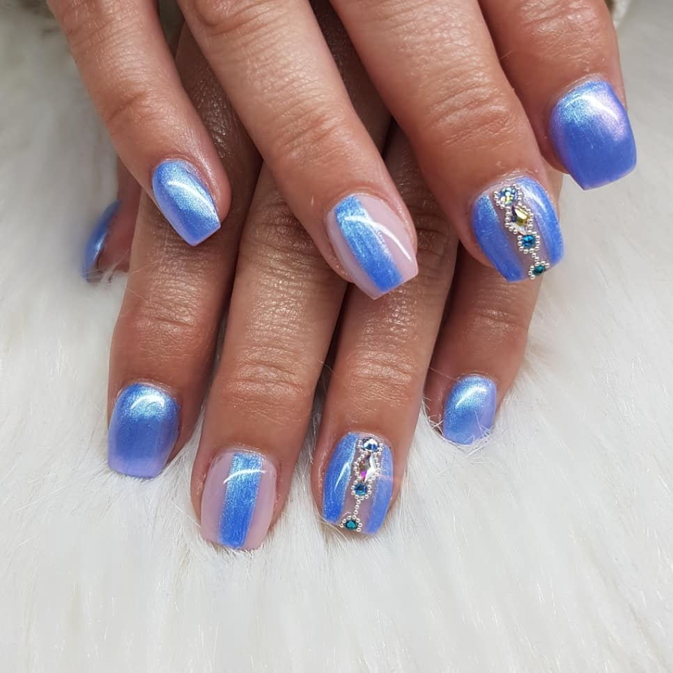 The new color Sisterhood from the Summer 2019 Buttercream collection Nails made with productsFrom nailsofinstagram